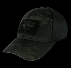 Image is loading Condor-Black-Multicam-Flexfit-Flex-Tactical-Operator-cap- 5b4a76449d9