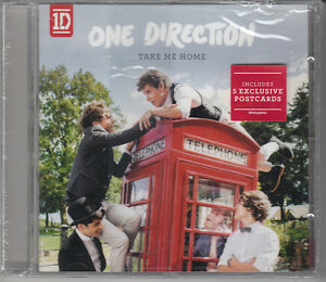 ONE-DIRECTION-Take-Me-Home-ltd-CD-album-with-5-postcards-SEALED-NEW