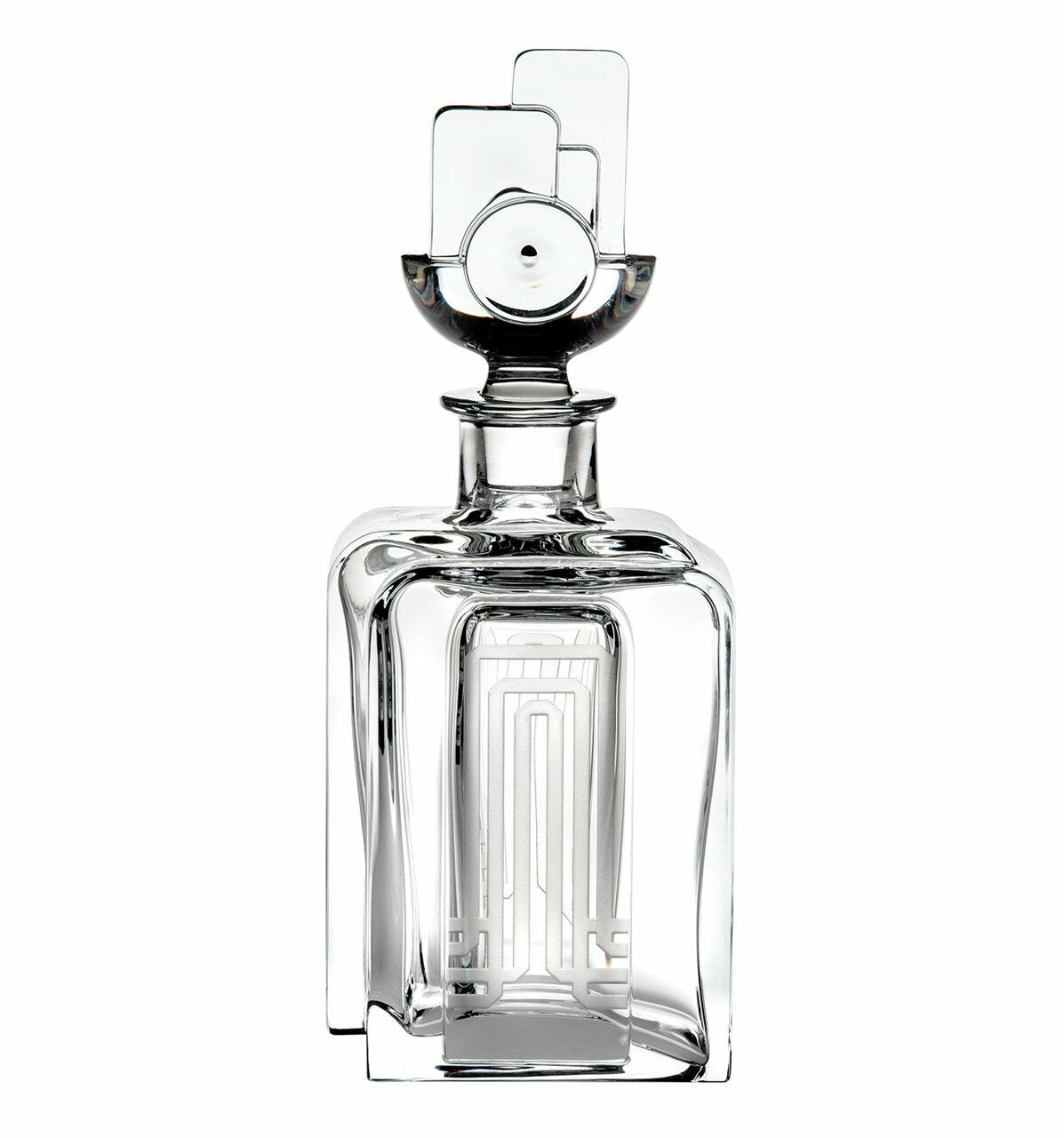 VISTA ALEGRE-Cinéma-whisky decanter (ref   48000773) Handmade Crystal