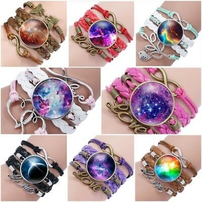 Infinity Love HORSES W// Cute Horse Charm Bracelet Multi Color New Free Tracking