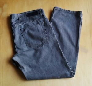 Marks /& Spencer Mens Straight Fit Toughmax Jeans with Belt M/&S Trousers Grey