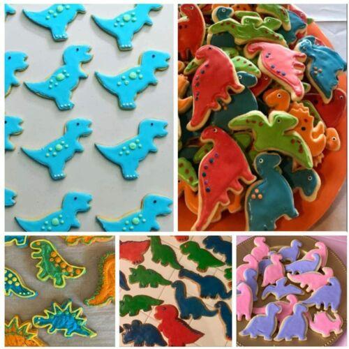 HOT Stainless Steel Cute Cartoon Dinosaur Mold Kitchen Baking Cookie Cutter Tool