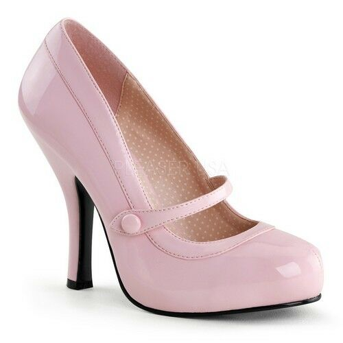 Pin Cute Up Couture CUTIEPIE-02 Platforms Baby Pink Patent Cute Pin Mary Jane High Heels 5ca912