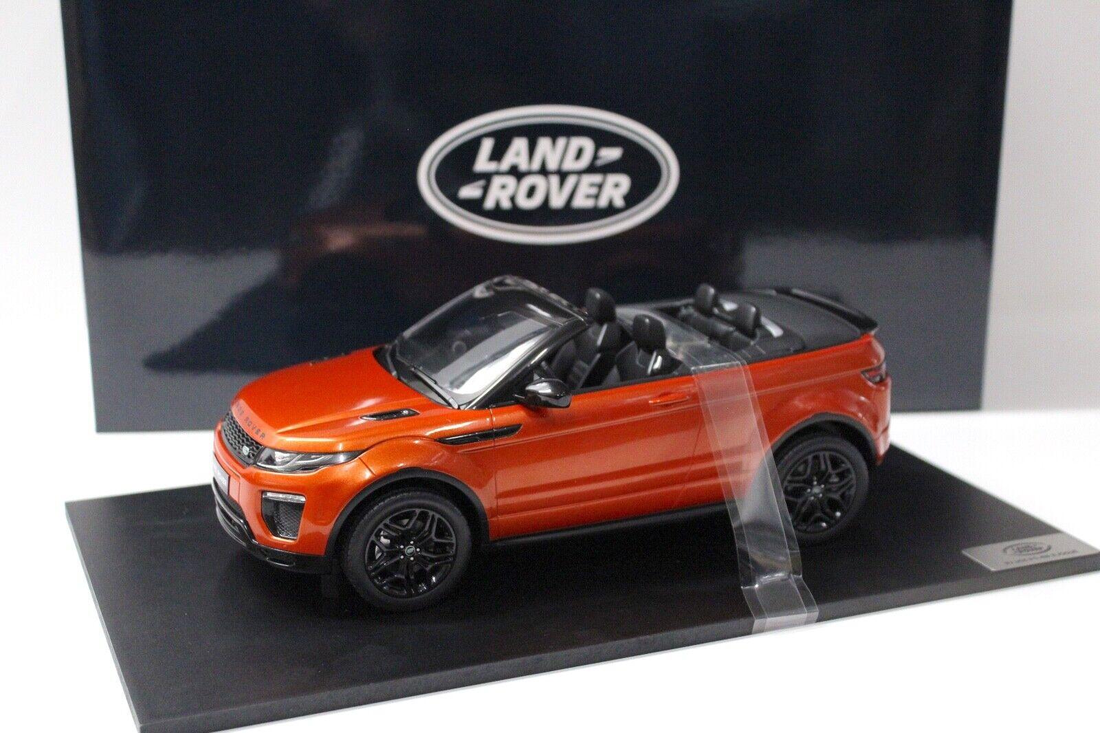 1 18 TSM Range Rover Evoque ConGrünible Orange DEALER NEW bei PREMIUM-MODELCARS
