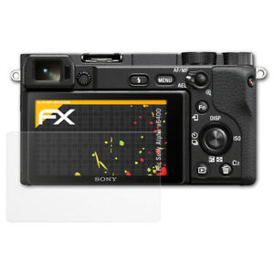 atFoliX-3x-Screen-Protection-Film-for-Sony-Alpha-a6400-matt-amp-shockproof