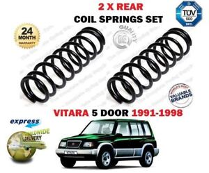 FOR-SUZUKI-VITARA-1-6-16V-MODELS-G16B-1991-1998-NEW-2-X-REAR-COIL-SPRINGS-SET