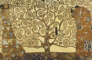 Gustav-Klimt-Stockelt-Frieze-POSTER-61x91cm-NEW