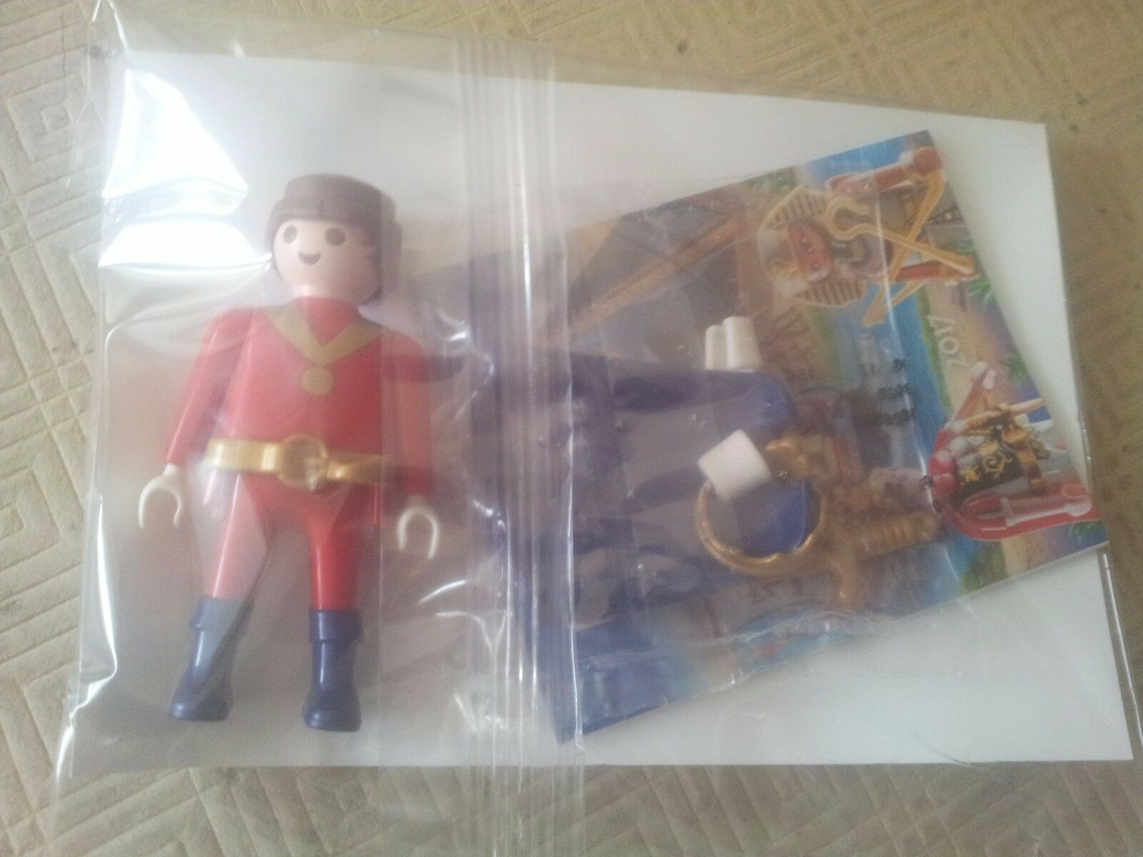 Playmobil Édition Limited France PRINCE LU Blister Rare