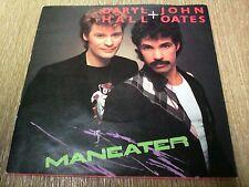 "DARYL HALL + JOHN OATES MANEATER 7""VINYL SINGLE 1982"