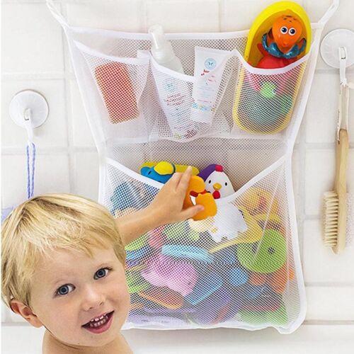 Baby Kids Bath Time Toys Storage Mesh Bathroom Bag Shower Gel Organiser Net