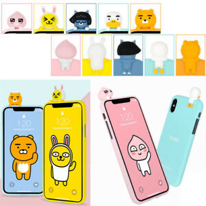 Kakao-Friends-Art-Jelly-Case-for-Apple-iPhone-XS-Max-XR-XS-X-8-8-Plus-7-7-Plus-6