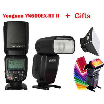 Yongnuo YN600EX-RT II HSS Wireless Flash Speedlite TTL For Canon.