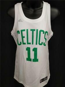 New Boston Celtics  11 Kyrie Irving Womens S-M-L-XL-2XL Adidas White ... 834c09e096
