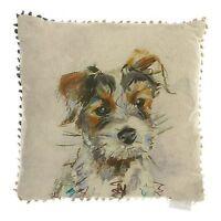 Voyage Maison Baxter Dog Feather Filled Cushion 43cm X 43cm