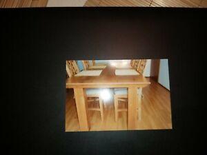 IKEA Tisch Kiefer 74x74 cm schwarzbraun Eßtisch,Küchentisch Holztisch Küche