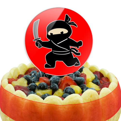 Sneaky Ninja Attacks Cake Top Topper