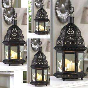 Lot of 4 Moroccan Lantern Candleholder Wedding ...