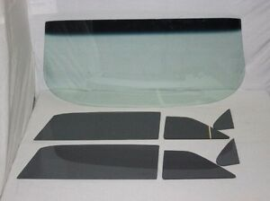 1958 Chevrolet 2 Door Sedan Glass Vent Door Quarter Clear Set Pontiac