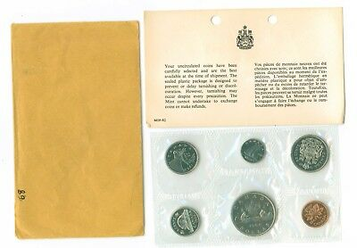 RCM 1968 Uncirculated Proof Like Set With original envelope and COA