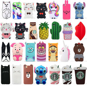 new product 11a26 ffe9b Details about 3D Cartoon Soft Silicone Phone Case Cover For Samsung J2  Prime J5 Prime J7 Prime