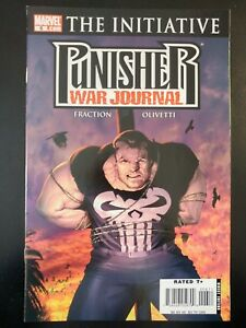 PUNISHER-War-Journal-6-The-Initiative-2007-MARVEL-Comics-VF-NM