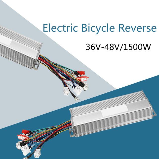 E-bike Bicycle Controller Sine Wave 36V 48V 1500W Bike Scooter Brushless Motor !