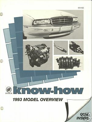 1993 BUICK KNOW-HOW KH-155  1993 MODEL OVERVIEW