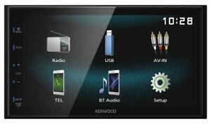 KENWOOD-dmx120bt-DOPPIO-DIN-mp3-Autoradio-Touchscreen-Bluetooth-USB-iPod-Aux-in