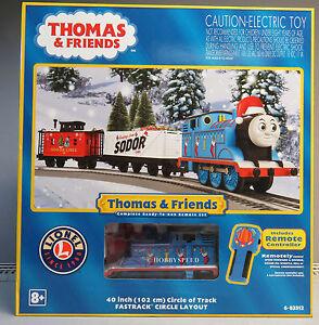 Thomas Christmas Train Set.Details About Lionel Thomas Friends Christmas Lionchief Remote Control Train Set 6 83512 New