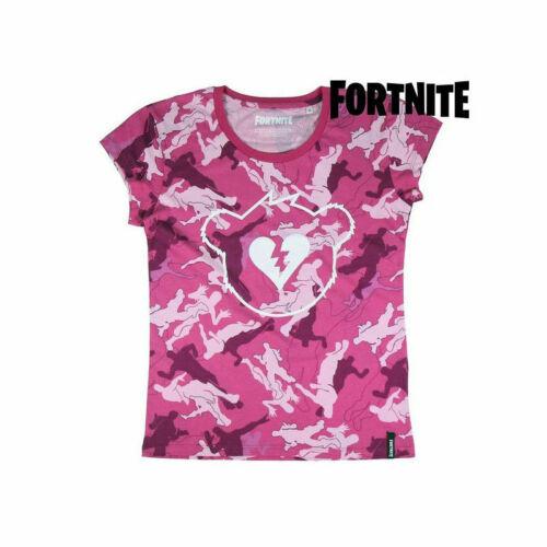 T shirt à manches courtes Enfant Fortnite Rose 2537