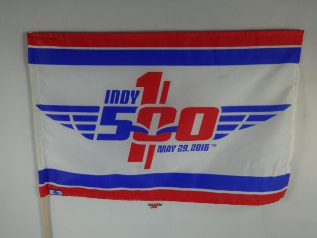 2016 Indianapolis 500 100th Running Event Collector Flag Banners