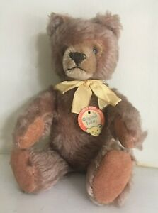 OLD-Steiff-Original-Teddy-034-Button-amp-Chest-Tag-VTG-1959-66-5325-02-9-5-034