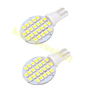 2 x ampoule t10 24 leds smd cree lampe ultra blanc voiture scooter 12v pas cher ebay. Black Bedroom Furniture Sets. Home Design Ideas