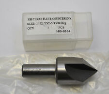 "1//2/"" 82 Degree HSS Single Flute Countersink Chicago Latrobe Coated New"