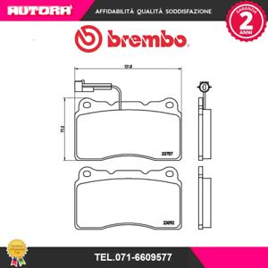 P23115-G-Kit-pastiglie-freno-a-disco-ant-Alfa-Romeo-Lancia-Maserati-BREMBO