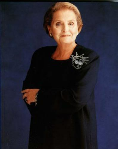 Brooching It Diplomatically : A Tribute to Madeleine K. Albright