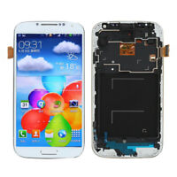 NEW White LCD Display Touch Screen Digitizer +Frame for Samsung Galaxy S4  M919