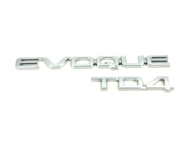 Genuine New RANGE ROVER EVOQUE TD4 REAR BADGE Boot Emblem 2011+ 2.0 2.2