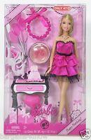 Barbie Pink Target Happy Birthday Bracelet & Lip Gloss For You