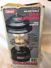 Vintage Coleman Adjustable Two Mantle Lantern 288 a 700 for