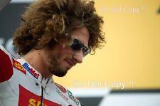 Marco Simoncelli San Carlo Honda Gresini Moto GP Podium Portrait Photograph 1