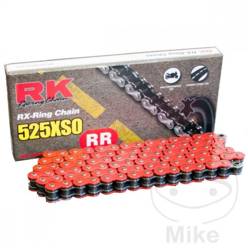 RK Red  RX-Ring  Drive Chain 525 P 112 L for Aprilia Dorsoduro
