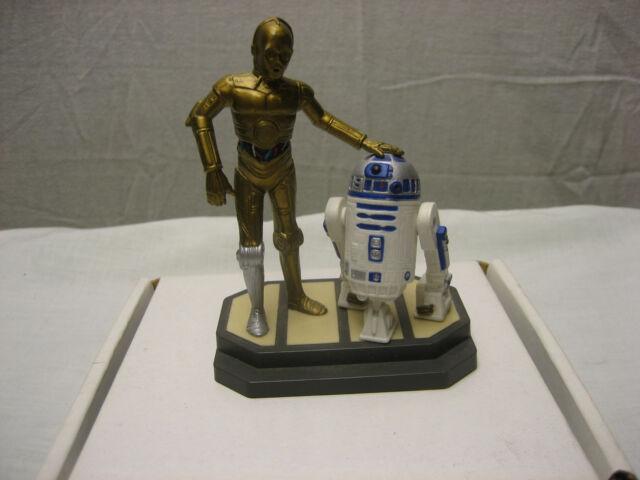 Vintage Star Wars 1997 Lucas Films Applause C3PO & R2D2 Plastic Statue RARE