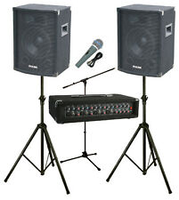 """ASTOUNDED POWERPACK GIGSTER - 200W, 10"""", 4 CHANNEL PA SYSTEM"""