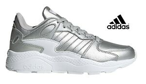 scarpe Adidas da ginnastica per donna sportive sneakers Crazy Chaos argento