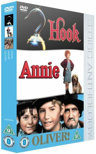 Hook/Oliver!/Annie [DVD] - DVD  IKVG The Cheap Fast Free Post