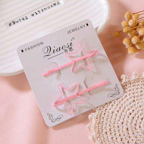 Charm Girls Lots Style Paint Hairpin Hair Clip Stick Barrette Bobby Pin Headwear