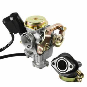 18mm GY6 50cc Rex Vergaser für Roller Carburetor RS 400 /450 /460 Ersatzvergaser