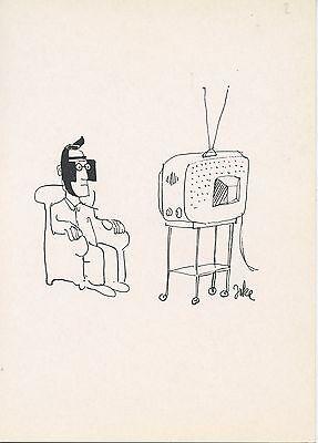 CARTE POSTALE ILLUSTRATEUR PUIG ROSADO DESSSIN D/'HUMOUR 1974 AVIGNON