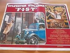 Fotobusta F.I.S.T. Sylvester Stallone, Rod Steiger 1978 (1)